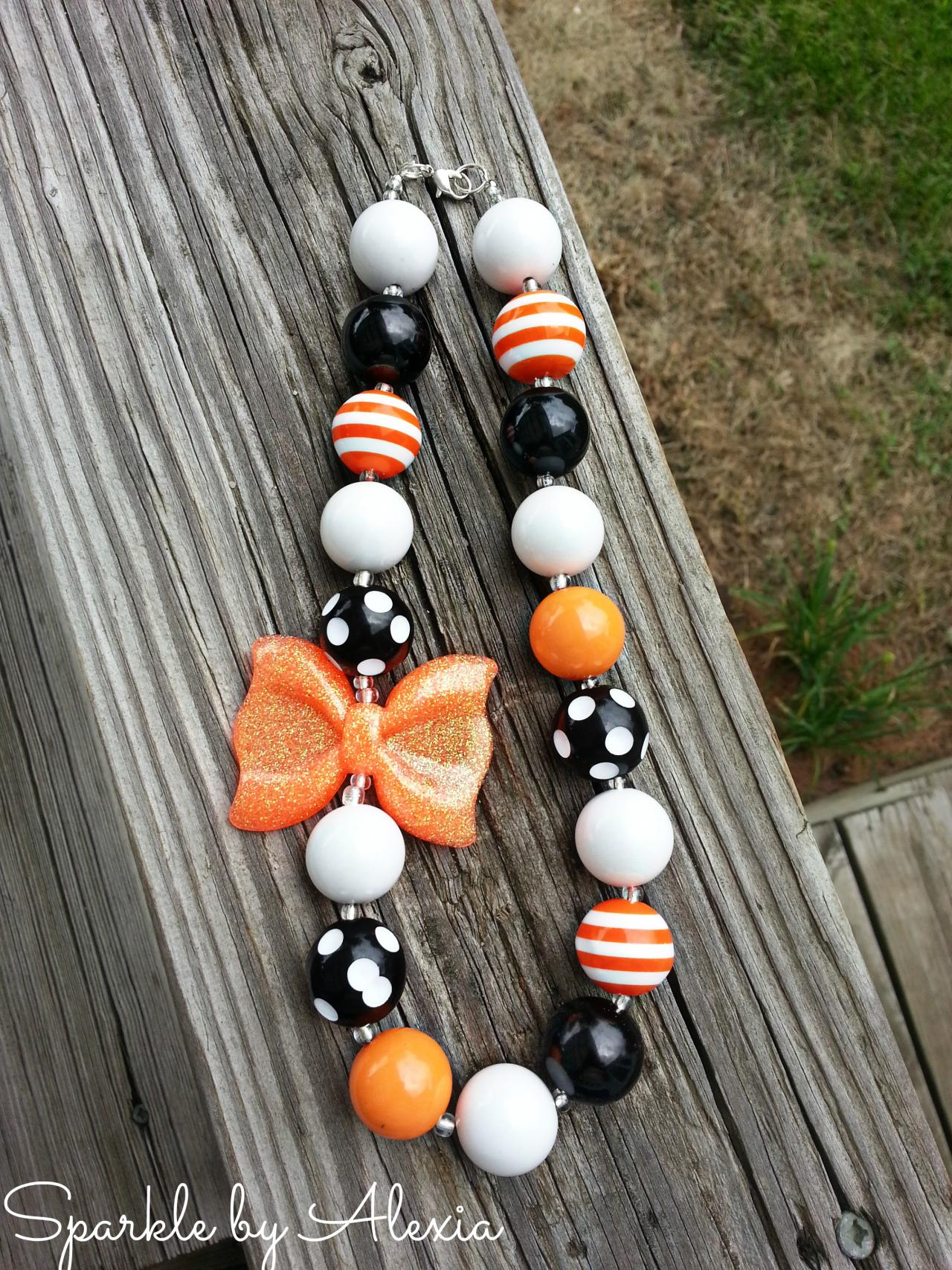 Halloween Chunky Girl's Necklace