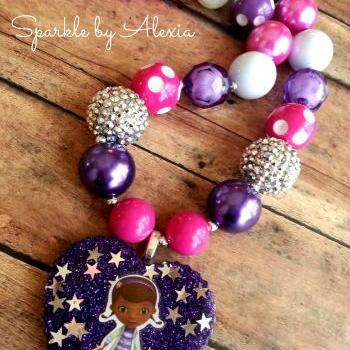 Chunky Beaded Girl's Necklace