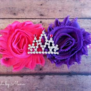 Princess Tiara/Crown Stretch Headband